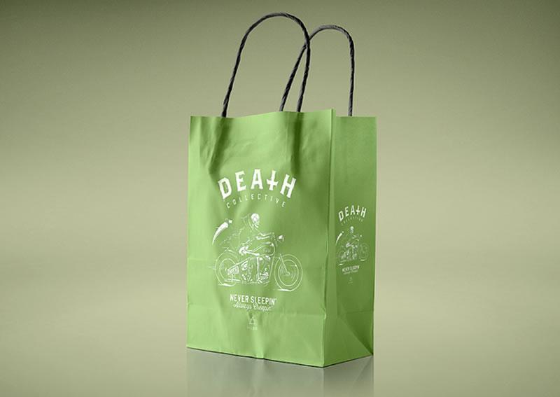 Paper Bag Green
